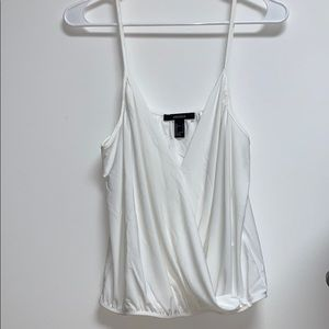 Forever 21 White cute dressed tank top